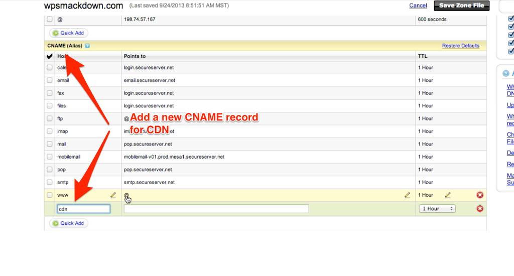 webs.com how to make email alias